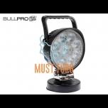 LED-töötuli magnetiga. 9-36V, 9x3W CREE, polükarbonaatklaas BullPro