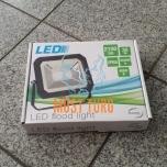 LED-prožektori õhuke, must, 30W, 220-240V, 2100lm, 4000K