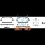 Piduriklotsid esimesed kHonda Civic 06- RoadHouse