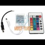 LED-valgusriba kontroller / kaugjuhtimispult 595