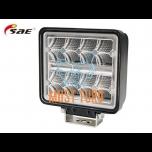 LED-töötuli, 9-36V, 16X1.5W, 2272lm, CE, PMMA-klaas, SAE