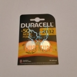 Patarei 2032, 3V, 2tk, Duracell