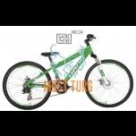 "Laste jalgratas Drag C1 Pro 24"" roheline/valge"