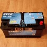 Autoaku AGM 95Ah 850A 353X175X190MM -/+ Exide