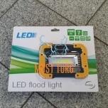 LED-prožektori akuga 10W, 1000lm, 6000K