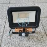 LED prožektor liikumisanduriga must 30W, 2400lm, 4000K