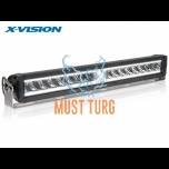 Kaugtuli LED X-VISION DOMIBAR X, led-parktulega 9-32V, 128W, Ref.37.5 9000lm