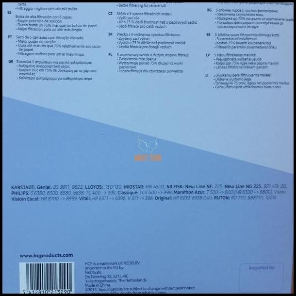 98a4b24d75f Tolmuimejakotid 4+2 filter PHILIPS OSLO+ HQ micro @ Must Turg