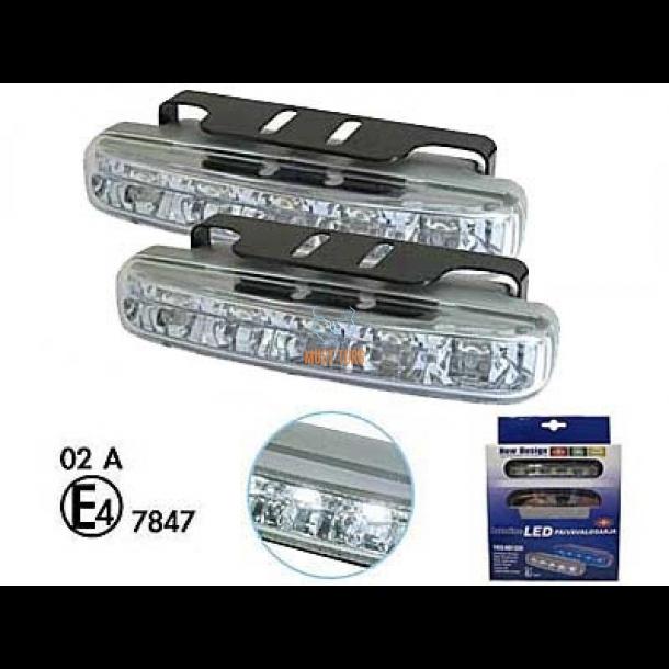 bad394f6090 LED-päevatuled 12V, 5x1W led, RL E-markeeringuga, 1296 @ Must Turg