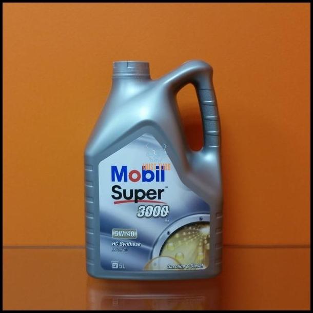 7a1e38268e5 Mootoriõli Mobil Super 3000 X1 5W40 5L @ Black Market