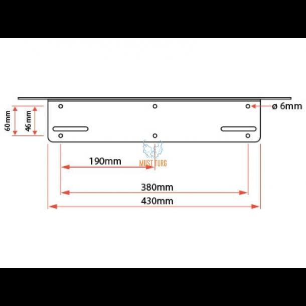 664147c94c2 ... Lisatulede kinnitus numbrimärgi taha, EU plaadile, X-vision R2/4/8