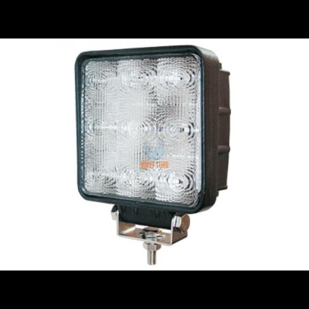 061a40e4263 LED-töötuli, 9-110V, 27W, 1450lm, CE, RFI/EMC, IP68, SAE @ Must Turg