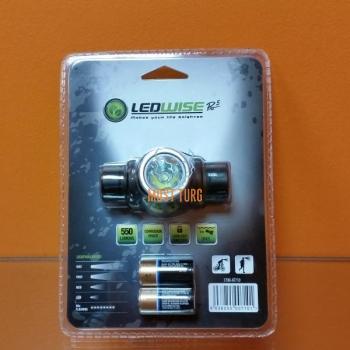 Headlight Ledwise Pro 5, 550lm, IPX7