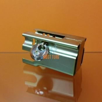 Drawbar lock