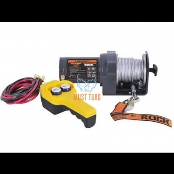 Electric winch 12V 907kg wire 15mx4,0mm 10000