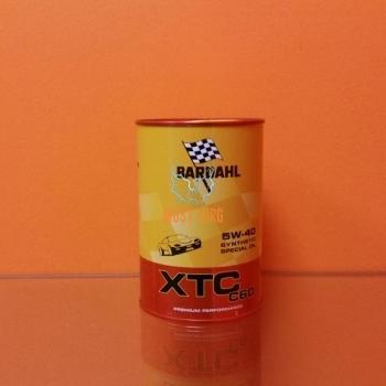 Engine oil 5W40 XTC C60 1L Bardahl 334040