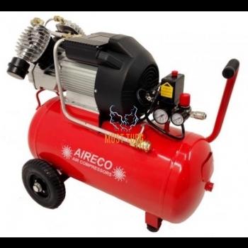 Kolbkompressor 2,2KW, paak 50L, AIRECO