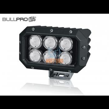 LED töötuli 60a°, 12-60V, 120W, 10800lm, EMC CISPR 25 Class 4, ADR, Bullpro