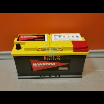 Car battery 95Ah 850A 351X174X190MM -/+ AGM
