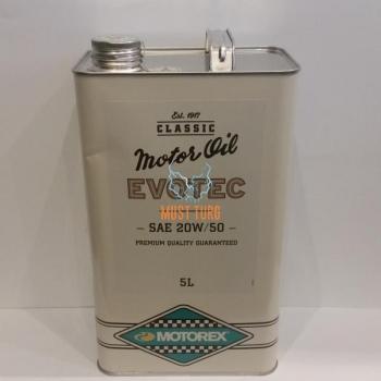 Mootoriõli uunikumidele Motorex Classic Evotec SAE 20W50 (1970-1990) 5L