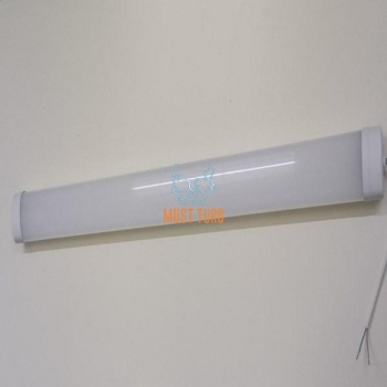 LED valgusti 36W, IP65, 3400lm, 1217x82x47mm