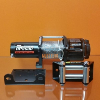 Elektrivints 12V 1589kg, trossiga 12,2mx5,8mm 10005 ROCK