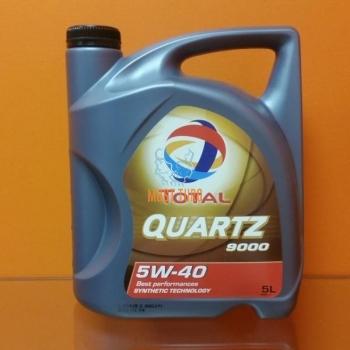 Engine oil 5W-40 TOTAL QUARTZ 9000 PSA 5L