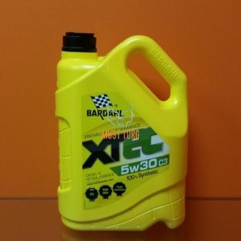 Mootoriõli 5W30 XT-EC (ACEA C3) 5L Bardahl 36303