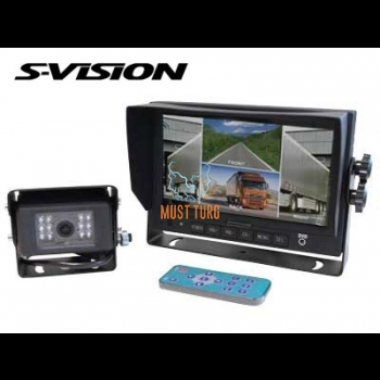 "Reversing camera kit 7"" with display 011"
