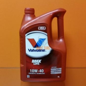 Mootoriõli 10W-40 VALVOLINE MaxLife 5L