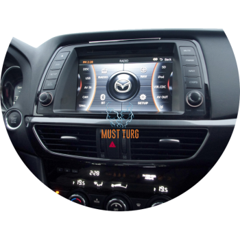 Multimeedia keskus Mazda CX-5 2013-2015a. CASKA