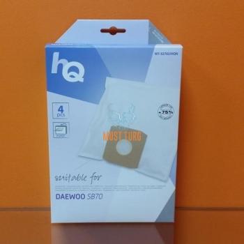 Tolmuimejakotid DaewooSB70 4tk +1 filter HQ micro