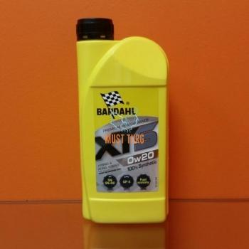 Mootoriõli 0W20 XTS (API SN) 1L Bardahl 36331