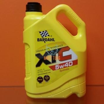 Mootoriõli 5W40 XTC 5L Bardahl 36163