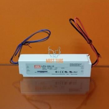 Toiteplokk 220/12V, 100W, 8,5A, IP67