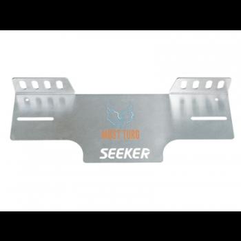 Lisatulede kinnitus numbrimärgi taha, EU plaadile, aluminium, SEEKER