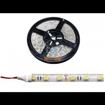 Led tuleriba 300x power LED, 12V, pealt valgustav, 42W/5m, 3,5A, 4000K