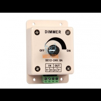 LED-valgusti dimmer 12-24V, 8A