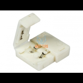 LED-riba jätkupistik, ilma juhtmeta, pigistatav, sobib 8 ja 10mm ribale
