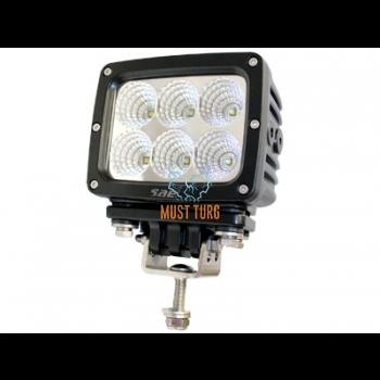 Töötuli LED 9-36V DC, 60W, 6x10W, 5400lm