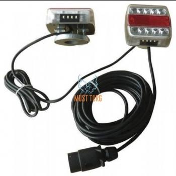 Tagatulede komplekt LED koos magnetkinnitusega