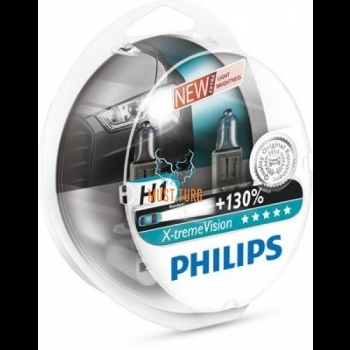 Autopirn H1 X-tremeVision 2tk pakendis, 12V Philips