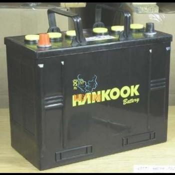 Truck battery 125Ah 720A 342X172X262MM +/- Hankook