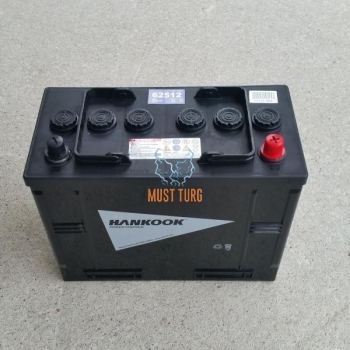 Truck Battery 125Ah 720A 342X172X262MM - / + Hankook