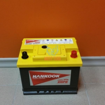 Car battery 68Ah 600A 242X174X190MM -/+ HANKOOK UMF