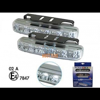 LED-päevatuled 12V, 5xled, 105x18x41mm