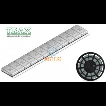 Liimitav tasakaal 3,8mm, 5kg. rull (1000X5G) FE, hall tsink+värv (TRAX)