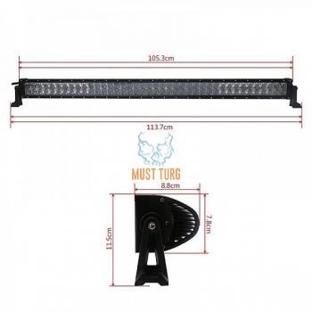 Töötuli 240W LED paneel, pikkus 1137mm, 6150-17600lm