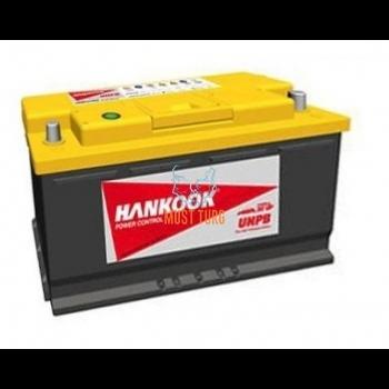 Autoaku 110Ah 950A 398X174X190MM -/+ Hankook UPHB kaltsiumaku