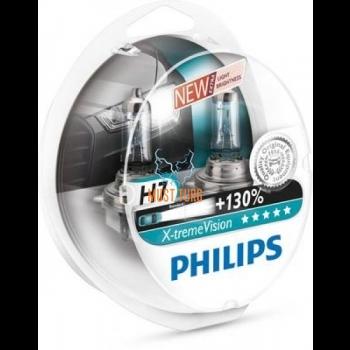 Autopirnid PHILIPS H7 X-tremeVision 130% 2tk
